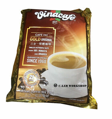 Vinacafe Cafe 3 In 1 Gold Original Instant Coffee 400g