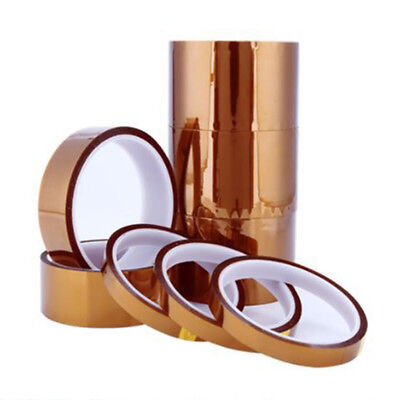 5-50mm Kapton Tape High Temperature Heat Insulated Resistant PI Polyimide Gold