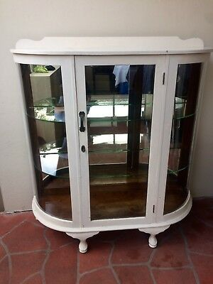 Art Deco Beach House China Cabinet