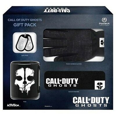 Call of Duty Ghosts Gift Pack (4-teilig) - Tasse, Handschuhe, Beanie und Dog Tag