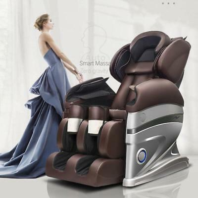 Electric Full Body Zero Gravity Shiatsu w/Heat Massage Chair Recliner new
