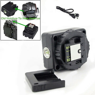 Portable Hot Shoe Adapter Converter For Sony Old Flash to New MI A7 A99 A77II