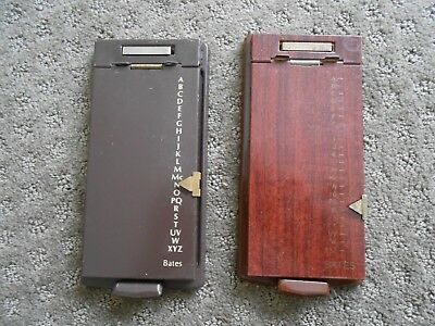 Bates List Finders - Lot Of 2