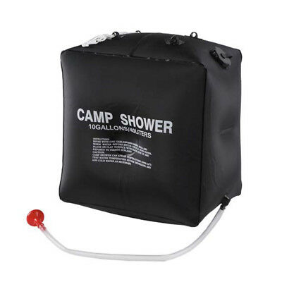 10 Gallons / 40 Liters Camp Solar Shower With Hose