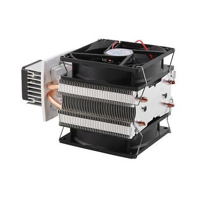 12V Semiconductor Refrigeration Thermoelectric Peltier Air Cooler Power Supply Q