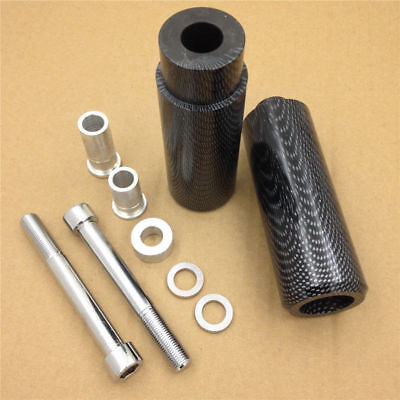 NEW Carbon Frame Sliders Crash Falling Protector For Yamaha 2006-2011 FJR1300
