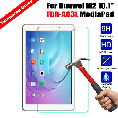 Genuine Tempered Glass Screen Protector for Huawei Mediapad M3 Lite M2 T3 T1-701