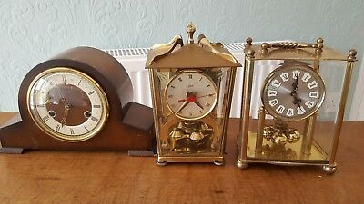 selection of clocks for repair **FOUND THE BACK OF ONE *** CLOCK