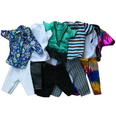3PCS Doll Clothes Casual Wear Jackets Pants Outfit For doll Boyfriend Ken US