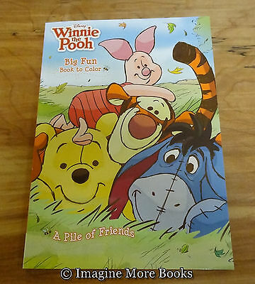 NEW Winnie the Pooh Coloring Book: Friends ~ 96 pgs ~ We Offer Combined Shipping