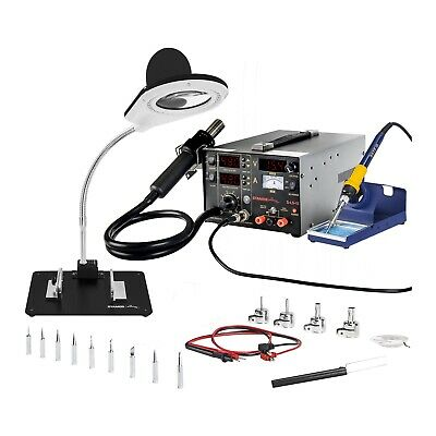 Soldering Station Soldering Iron Kit Digital Rework Station 75W Hot Air Gun 800W