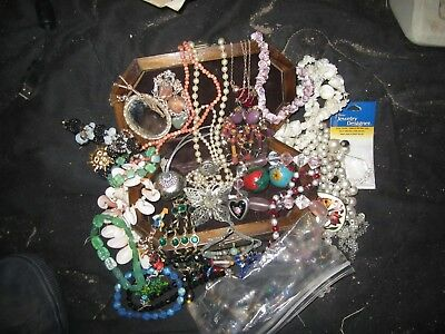 Variety Lot of Fashion Necklaces, Jewelry & More - Vintage, Hand-made, Unique