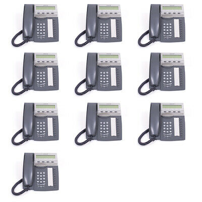 ☆ Joblot of 10 Ericsson Aastra 4223 Dark Grey Dialog I 12 Months Warranty