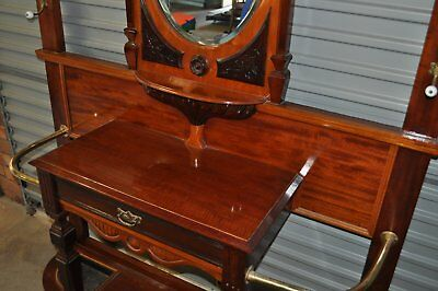 Antique French Polished Timber Hall Stand from England in 1912