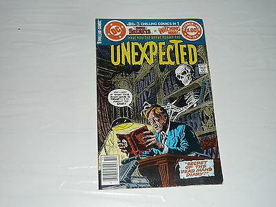 DC Comics The Unexpected Dead Man's Diary No193 1970s vintage Witching Hour