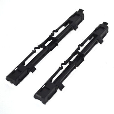2 Black Roof Luggage Rail Trim Moulding Cover for Opel Astra H Zafira B P53