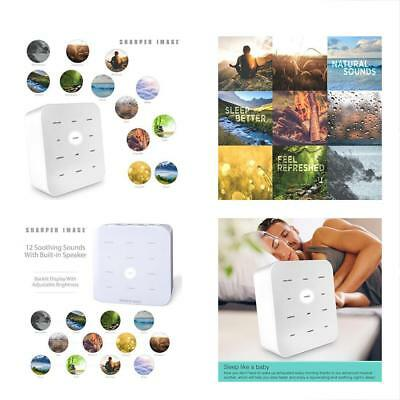 Best White Noise Sound Machine For Baby Room & Adults, 12 Soothing Nature Music