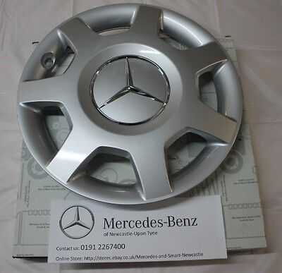Genuine Mercedes-Benz W169 A-Class X1 Centre Hub Cap / Wheel Trim A1694000925
