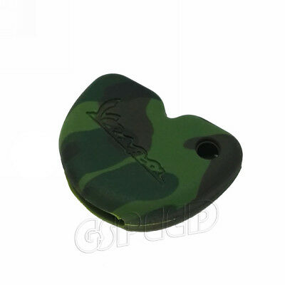 Camo Camouflage Silicone Key Case For VESPA LX GTS GTV GT 125 250 300 SCOOTER