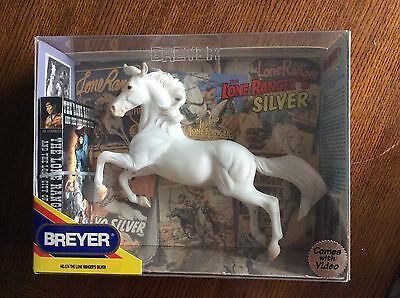 Breyer Horse The Lone Ranger's Silver #574 in Box w/ VHS video Never opened
