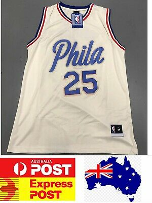 brand new c8add 5e755 PHILADELPHIA 76ERS BEN Simmons Jersey 2018 New City Edition