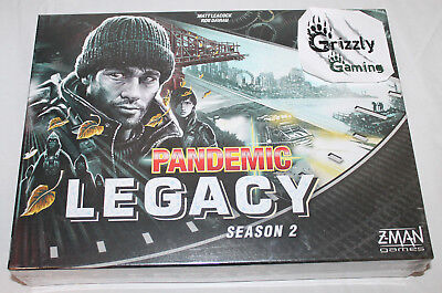 NEW Pandemic Legacy Season 2 Black [Board Game Z-Man Games]