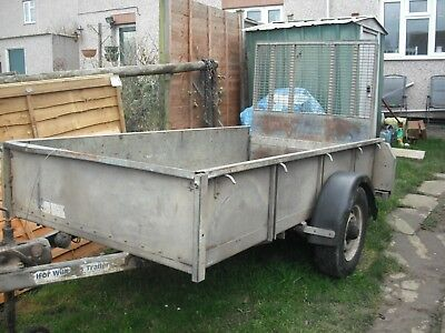 Trailer Ivor Williams 7Ft Long 4Ft Wide This Is The Bed Size