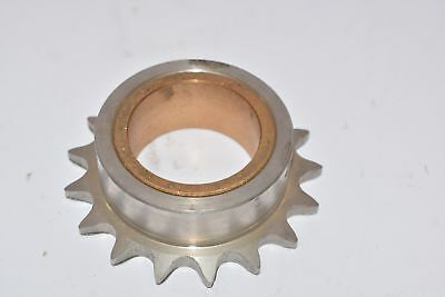 Martin Sprocket & Gear 40L17SS Stainless Steel 1-7/16'' Bore Sprocket