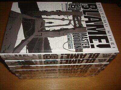 Blame Master Edition (Manga Cult) HC Hardcover deutsch