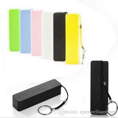 2600mAh UNIVERSAL USB POWER BANK PORTABLE EXTERNAL BATTERY CHARGER FOR PHONES
