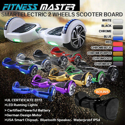 Smart Self Balancing Hoverboard Electric 2 Wheel Scooter Hover Board