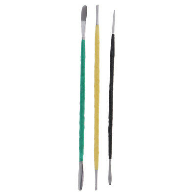 3 Pieces Clay Sculpting Tools - Pottery Sculpture Modeling/Carving Tool