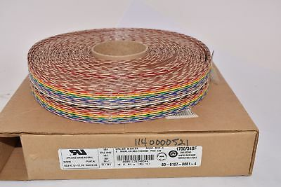 NEW 3M MC34F-100-ND Flat Ribbon Cable Multiple 34 (17 Pair Twisted) Conductors