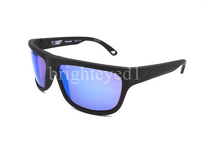 000809692d Authentic SPY Angler Polarized Soft Matte Black Sunglasses 673237973438   NEW