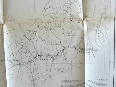 Barnstable Harbor Cape Cod Yarmouth 1862 Nautical Chart US Coast survey