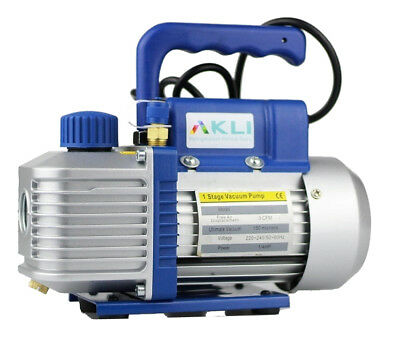Vacuum Pump For HVAC Air Conditioning 100L/MIN 2 stage for refrigeration fridge