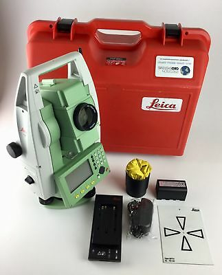 "Leica Flexline TS06 Plus 5"" R500 Reflectorless Total Station, We Export!"
