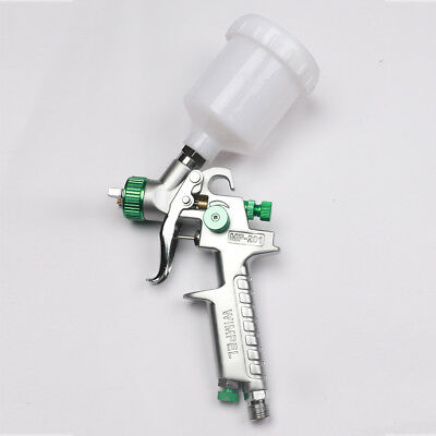 0.8mm Mini HVLP Air Paint Spray Gun Car Repair Gun Detail Touch Up Paint Sprayer