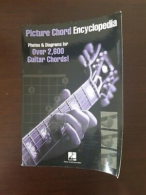 PICTURE CHORD ENCYCLOPEDIA Guitar Chord Reference Book - £6.08 ...