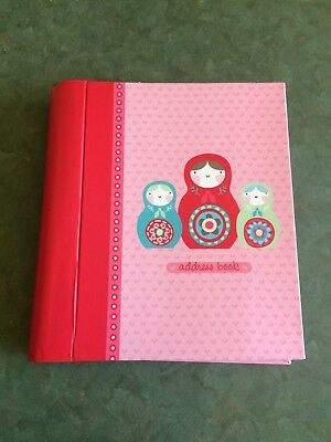 Address Book featuring Babushka Dolls