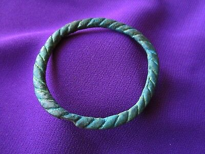 Ancient CELTIC BRONZE BRACELET - circa 200 BC.
