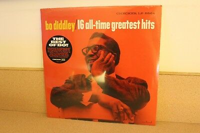 Bo Diddley 16 all time greatest hits NEW SEALED vinyl LP RSD 2018