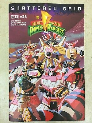 Mighty Morphin Power Rangers #25 Shattered Grid eBay/Jesse James Exclusive NM