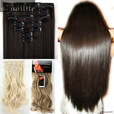 Real Thick remy style for human hair Extensions 16 Clips in Hair Extention NEWLY