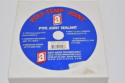 NEW ANTI-SEIZE AST28014 JOINT SEALANT PTFE 1/2''x15Ft