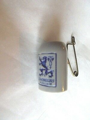 Vintage Tiny Lowenbrau Beer Stein Charm Advertising Pin