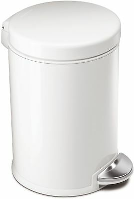 simplehuman 4.5L Round Pedal Bin - Stainless Steel -From the Argos Shop on ebay