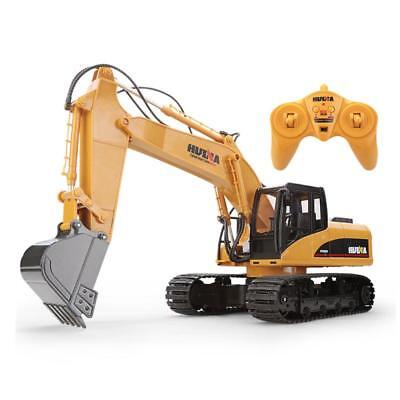 New RC Remote Control Toy Excavator Coupler Construction Digger Engineer vehicle