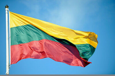 Outdoor Lithuanian Flags 3x5FT/90*150cm Hanging Lithuania flag ba Festival Decor