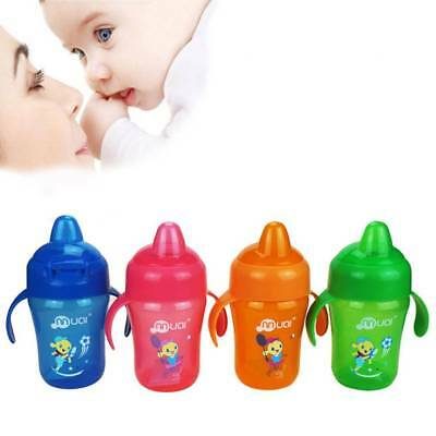 Infants Baby Bottle Training Drinking Cups Kids Soft Feeding Sippy Duckbill Cup